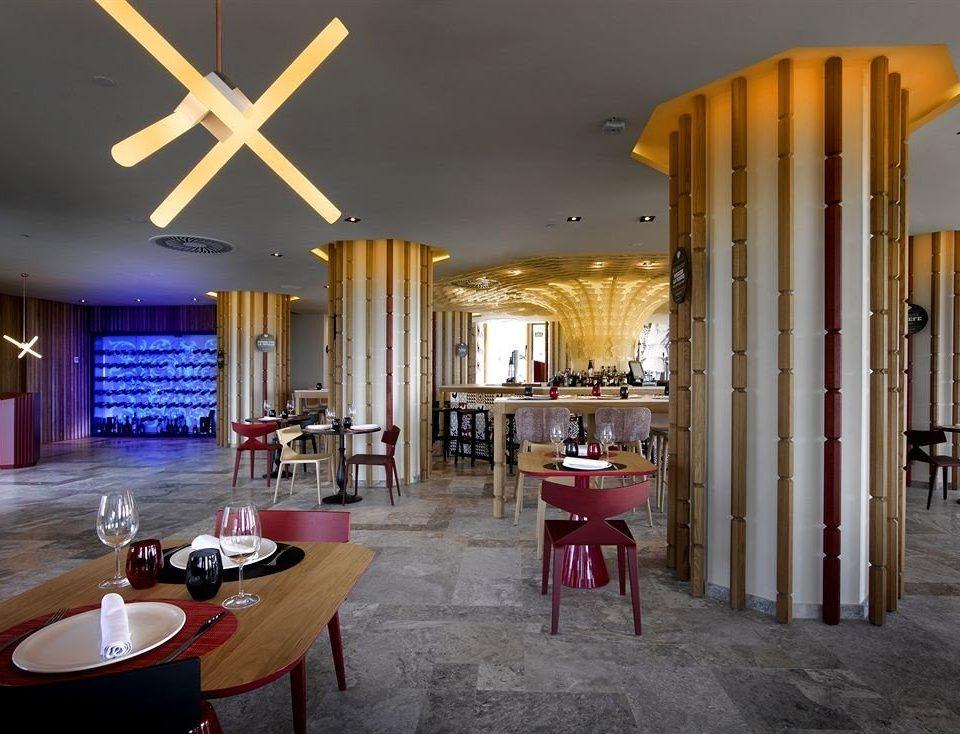 Lobby restaurant lighting home Resort living room
