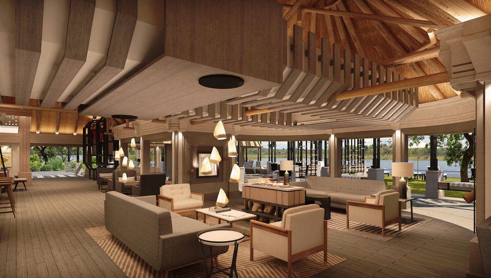 property Resort Lobby restaurant lighting home