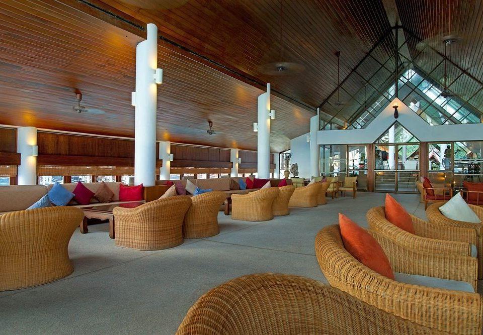 Lobby Resort restaurant home living room