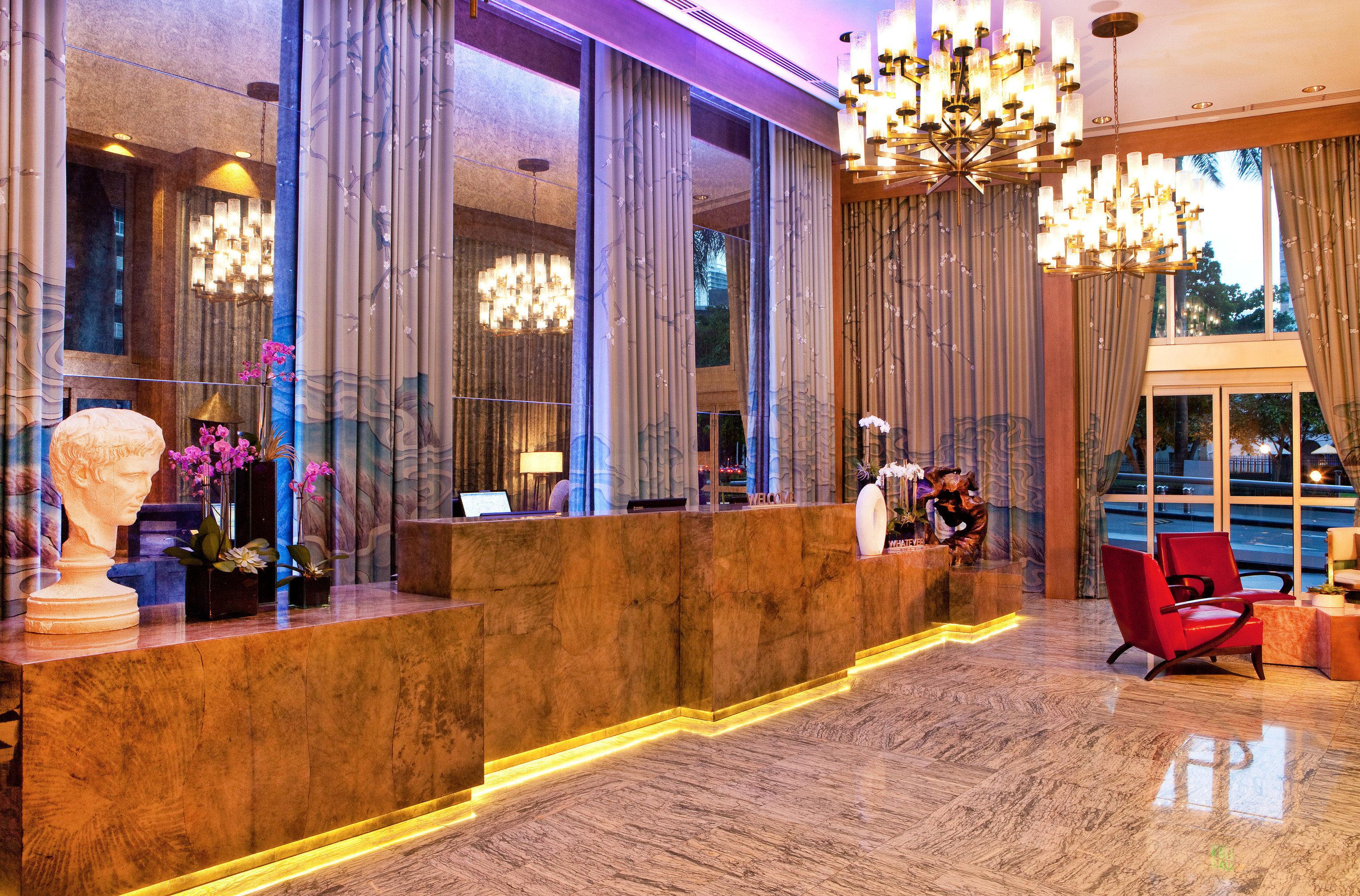 Lobby home living room Resort