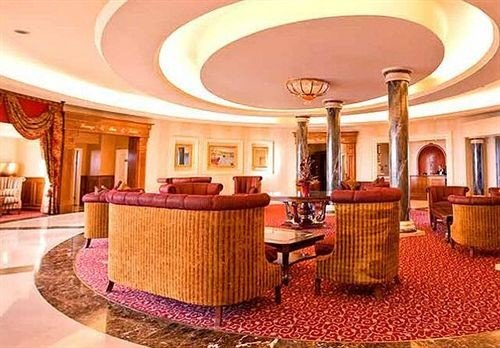 property Lobby function hall Suite convention center Resort ballroom conference hall palace dining table