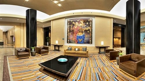 Lobby living room Suite recreation room yacht Resort home mansion dining table