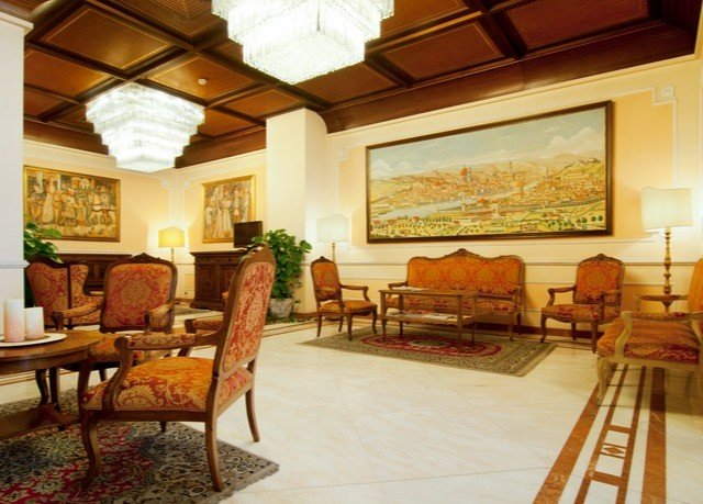 property Lobby living room home Villa Resort Suite hacienda mansion cottage