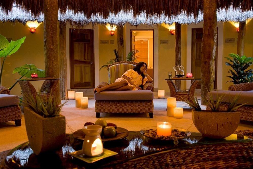 property living room Resort home Lobby Villa Suite hacienda eco hotel