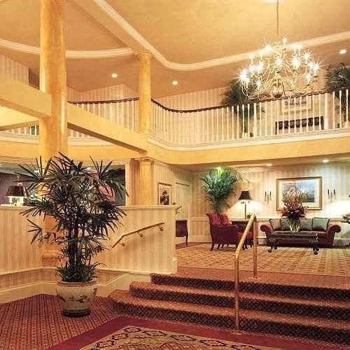 Lobby property building home mansion plant condominium living room hacienda Villa Resort