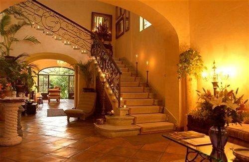 Lobby property building mansion hacienda Resort Villa palace