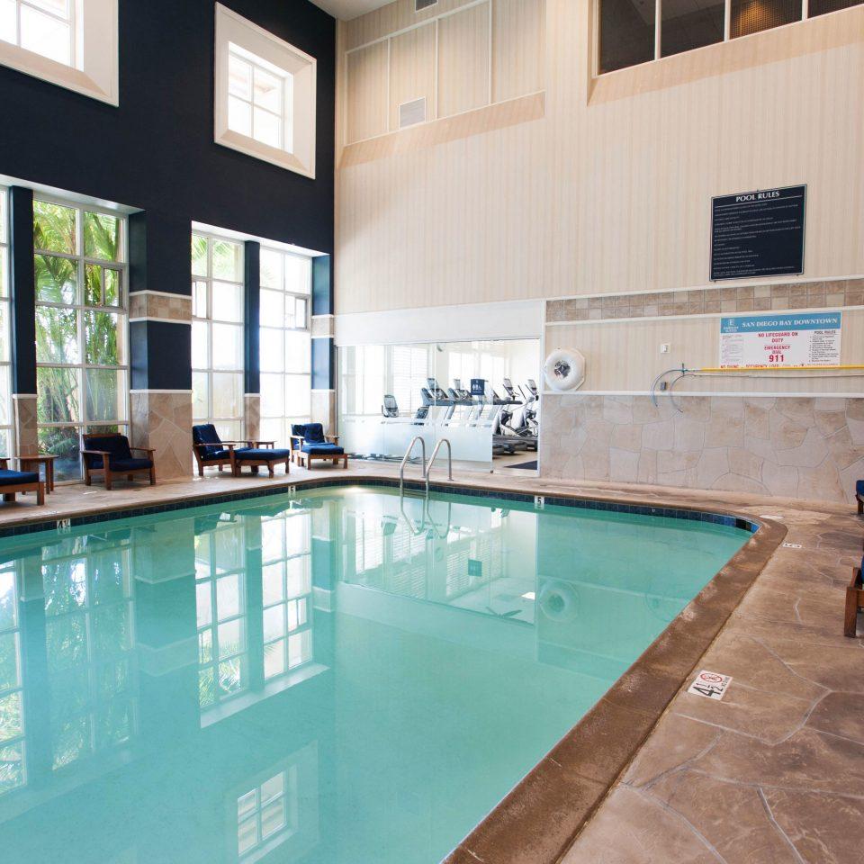 swimming pool property building condominium home flooring Resort Lobby mansion Villa tiled