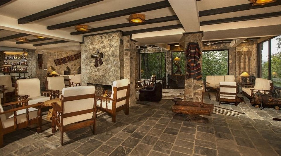 Lobby property chair restaurant living room Resort Villa cottage