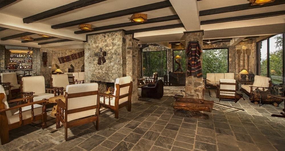 Lobby property chair restaurant living room Resort Villa cottage