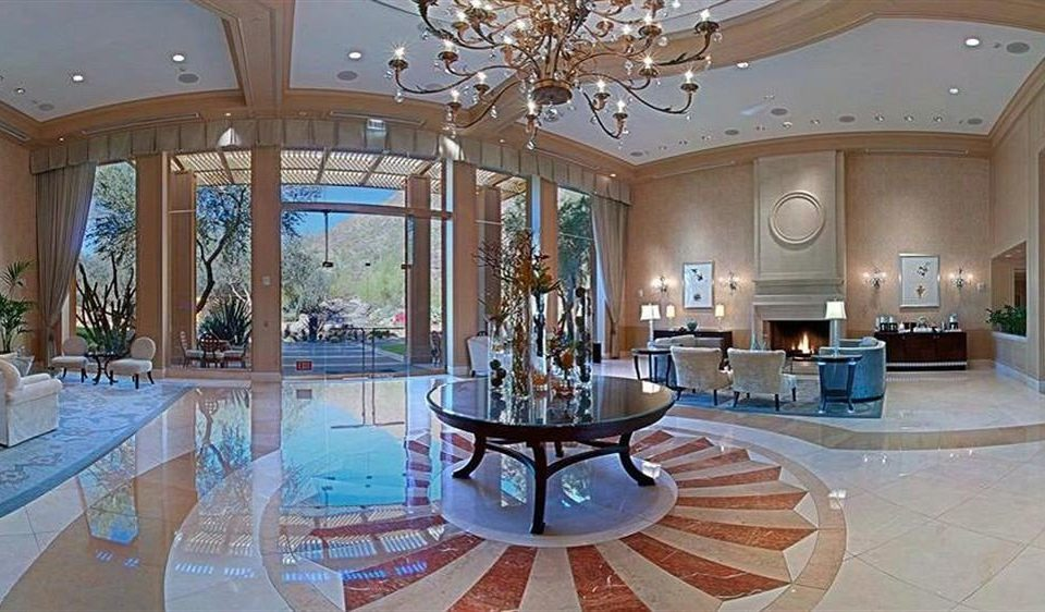Lobby property swimming pool Resort mansion home condominium palace living room Villa