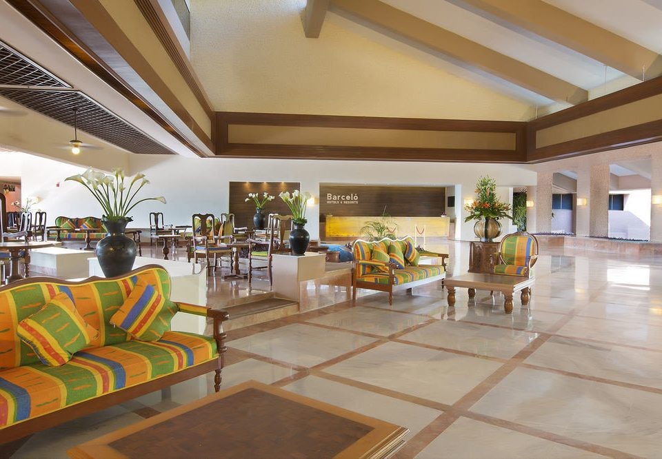 Lobby property Resort home condominium mansion Villa living room