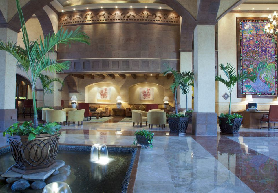 Lobby property mansion swimming pool home Resort Villa hacienda living room palace
