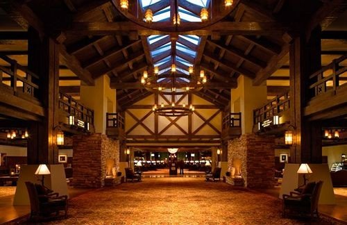 building Winery Lobby Resort night