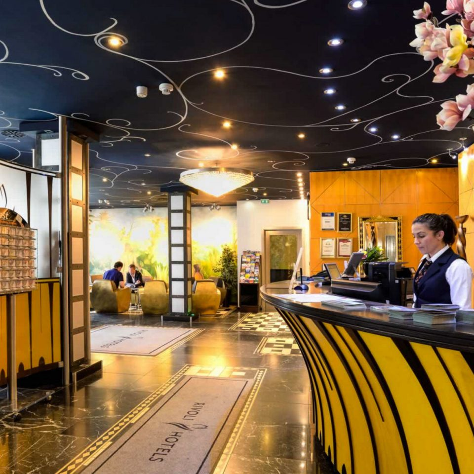 yellow Lobby restaurant