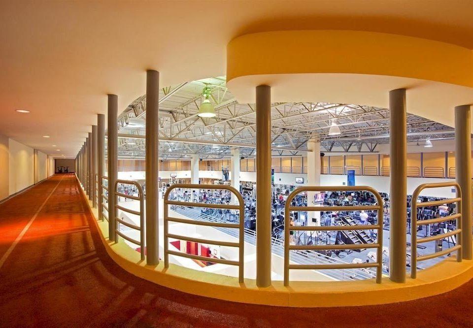 Lobby shopping mall