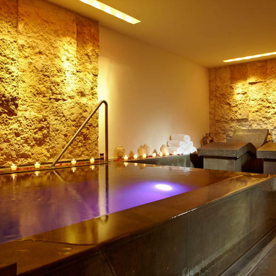 Spa Wellness lighting Lobby counter