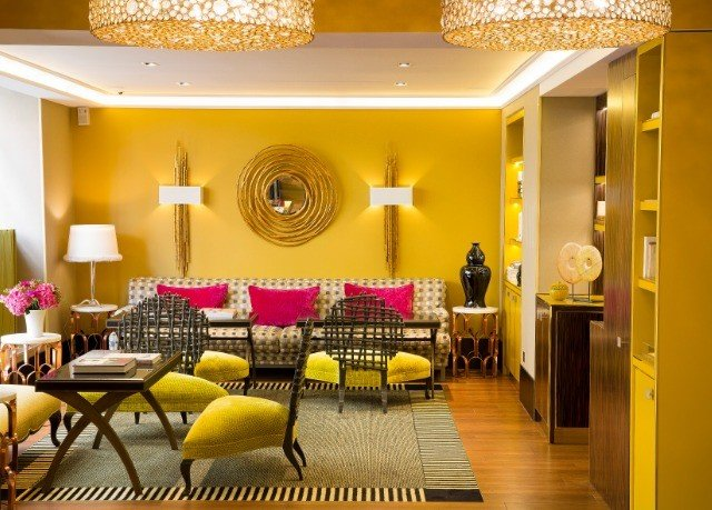 function hall Lobby yellow restaurant Suite living room ballroom