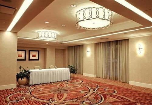 property conference hall Lobby living room recreation room Suite function hall mansion flooring basement