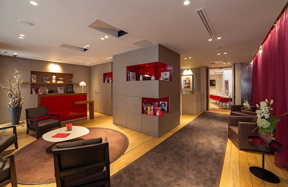 property Lobby recreation room living room Suite basement
