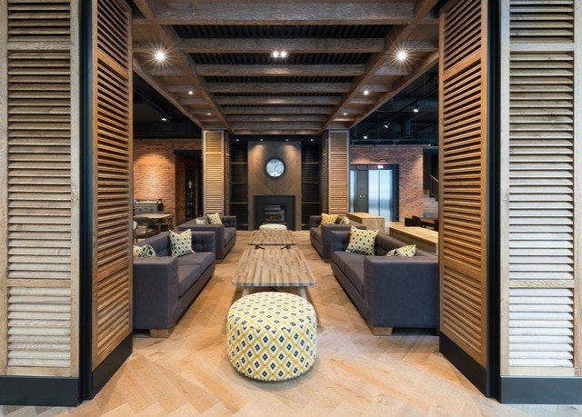 Lobby building property living room condominium home lighting Suite flooring