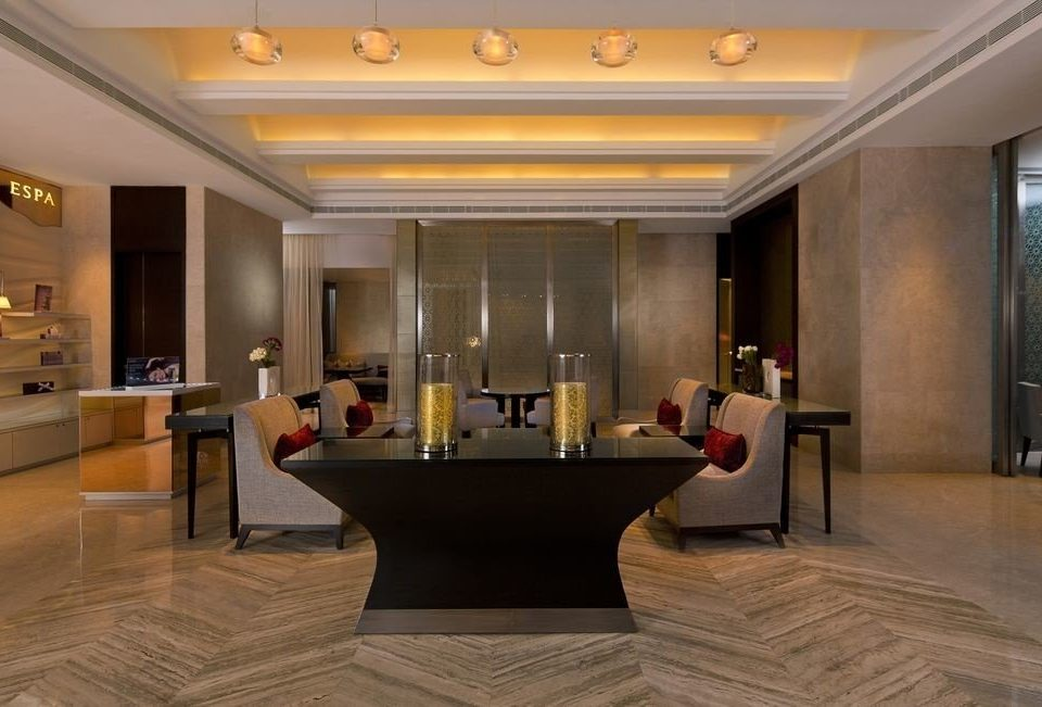 Lobby building property flooring home wood flooring Suite living room mansion