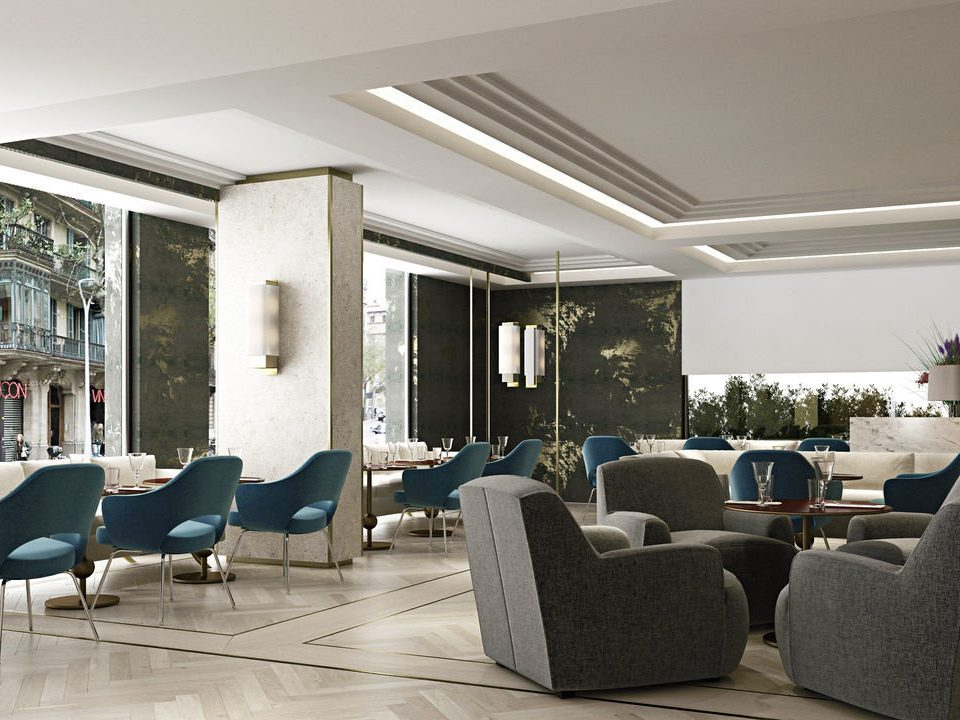 chair property living room Lobby home condominium waiting room conference hall Suite
