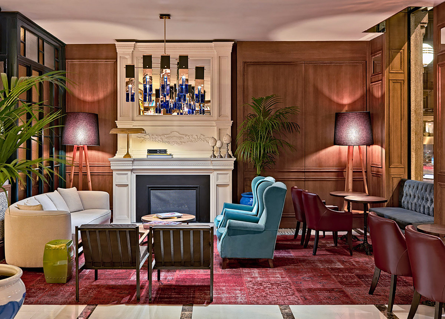 living room chair property home Lobby mansion Suite recreation room