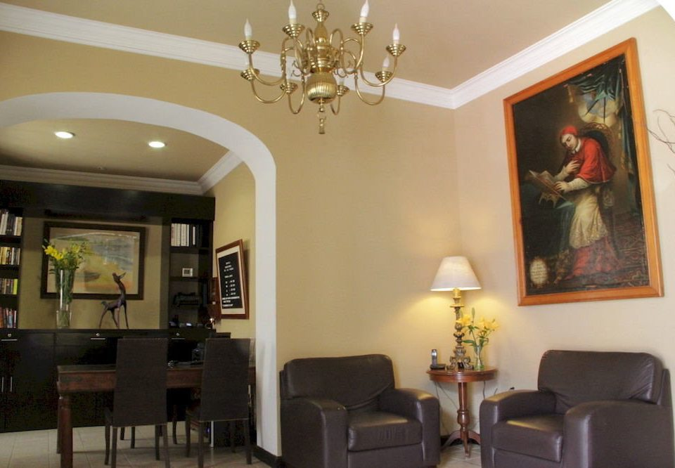 property chair living room home Lobby Suite leather