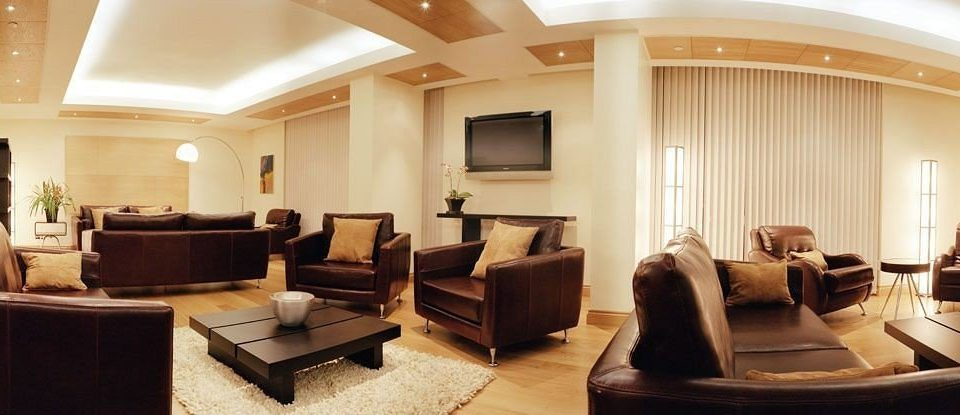 sofa property Lobby living room Suite home condominium mansion conference hall