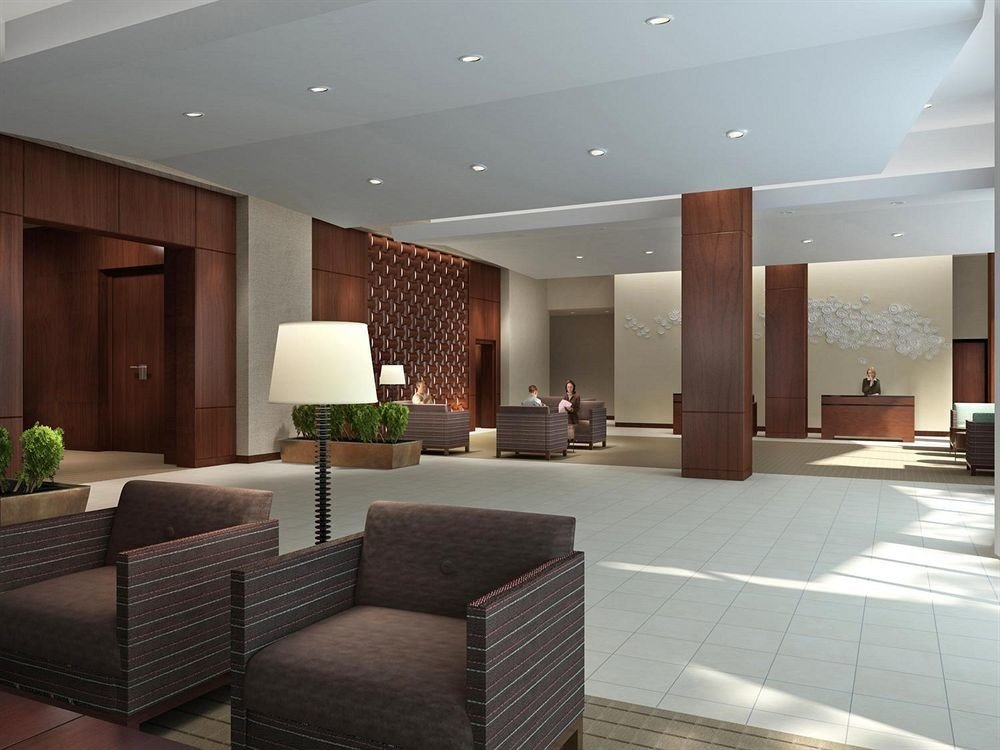 Lobby property living room condominium lighting convention center conference hall Suite