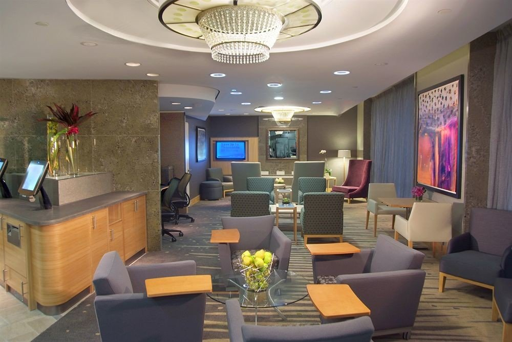 Lobby property living room home Suite condominium conference hall recreation room