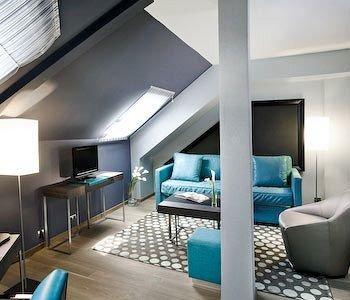 property condominium living room Suite lighting daylighting loft Lobby