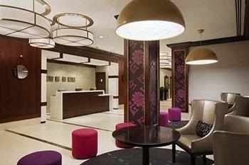 property Lobby living room lighting condominium Suite dining table