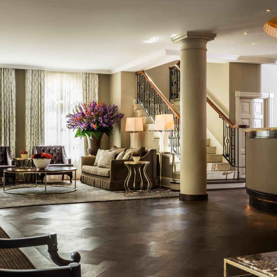 Lobby property living room home Suite mansion flooring condominium