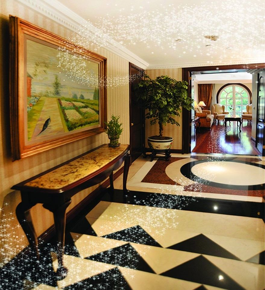 property living room Lobby home mansion Suite recreation room flooring condominium painting