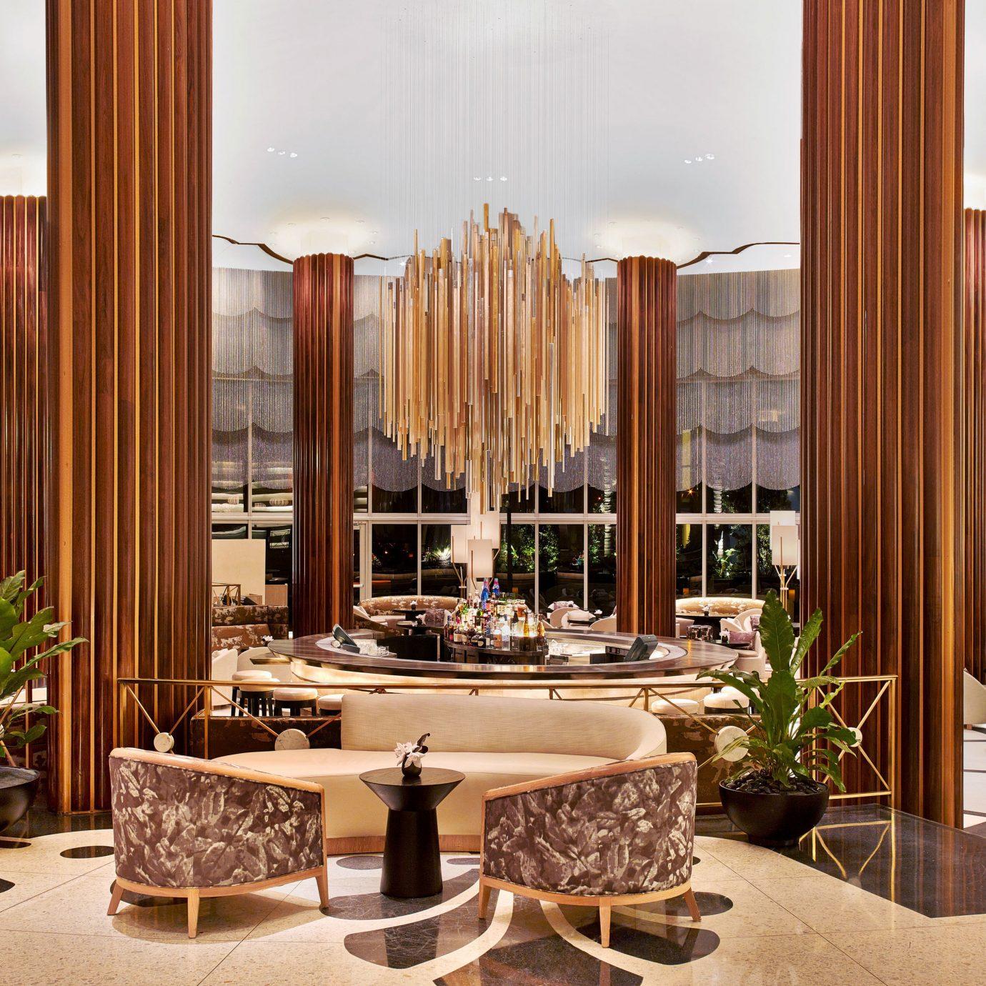 Lobby living room home Suite condominium set