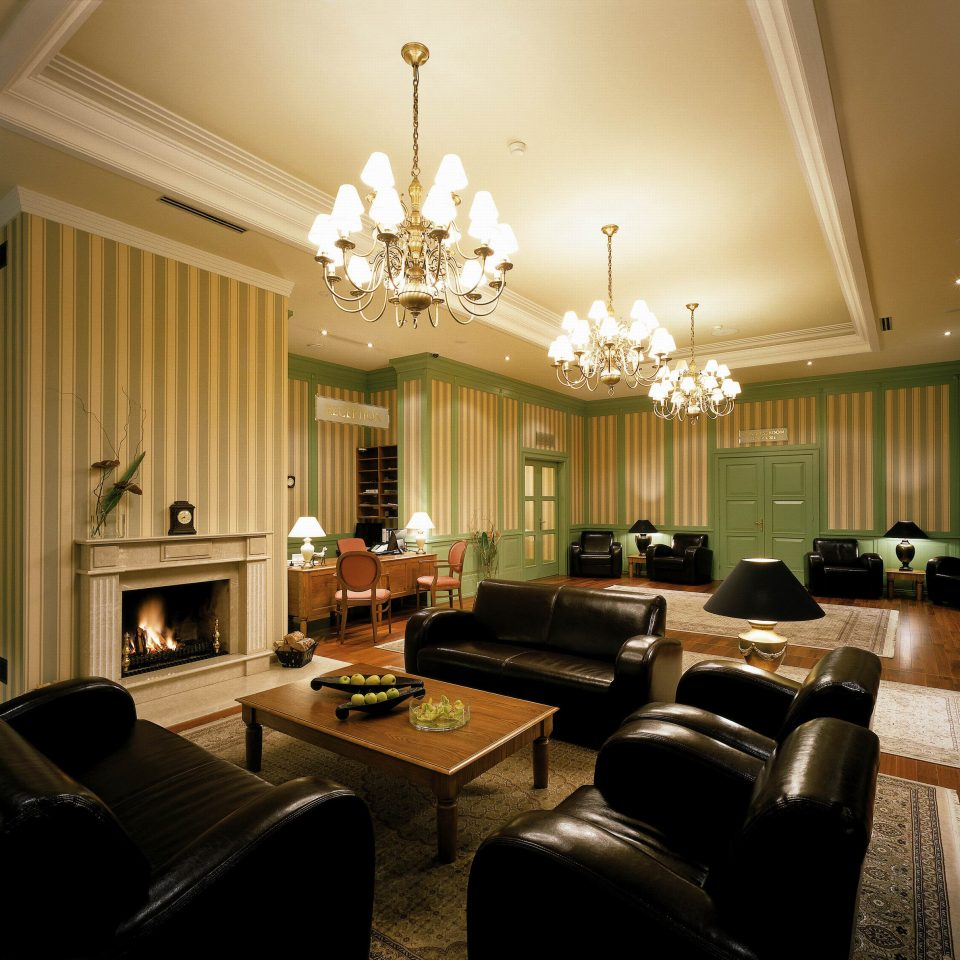 living room property home condominium Lobby Suite mansion leather
