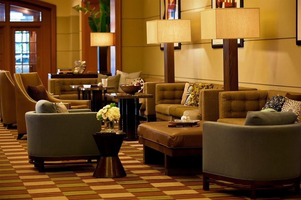 Lobby living room home Suite restaurant condominium