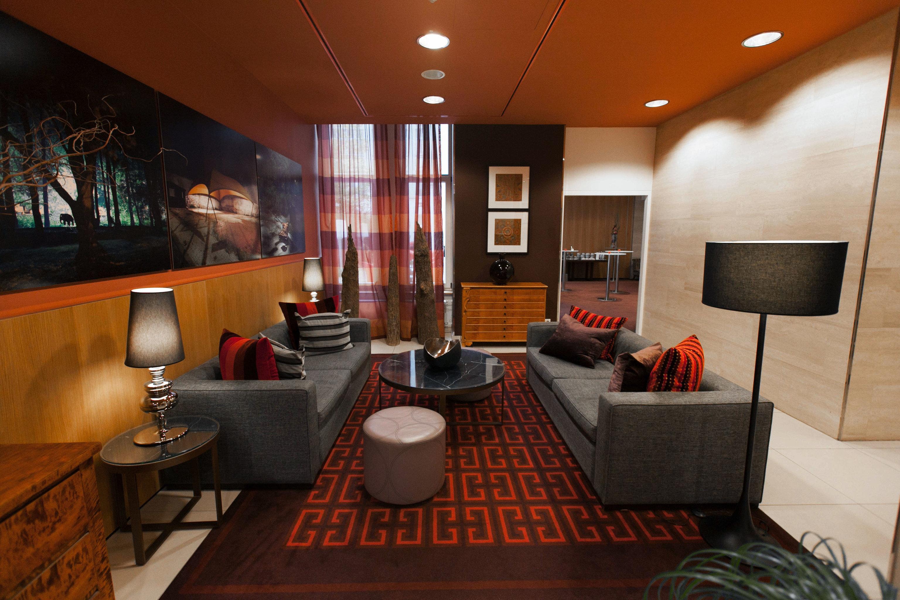 Lobby property living room Suite recreation room condominium nice lamp