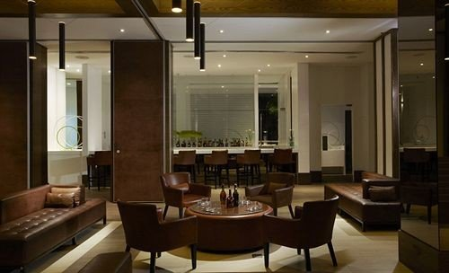 property Lobby condominium living room lighting restaurant Suite