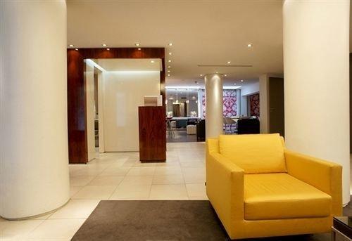 property Lobby condominium Suite yellow waiting room living room
