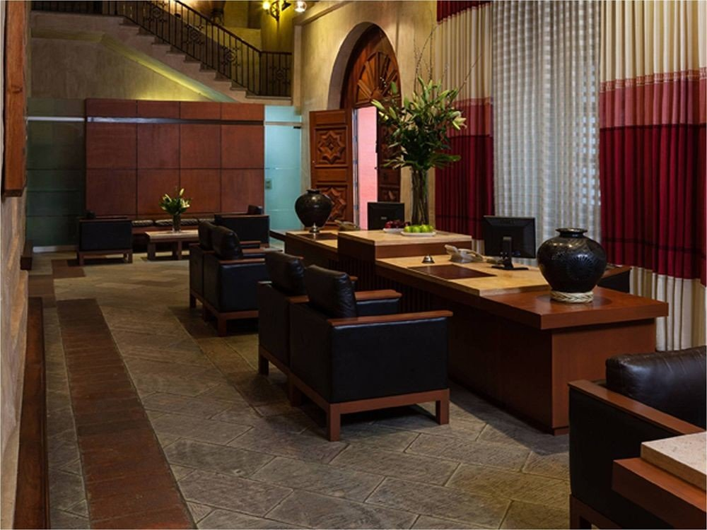 Lobby property living room recreation room Suite conference hall