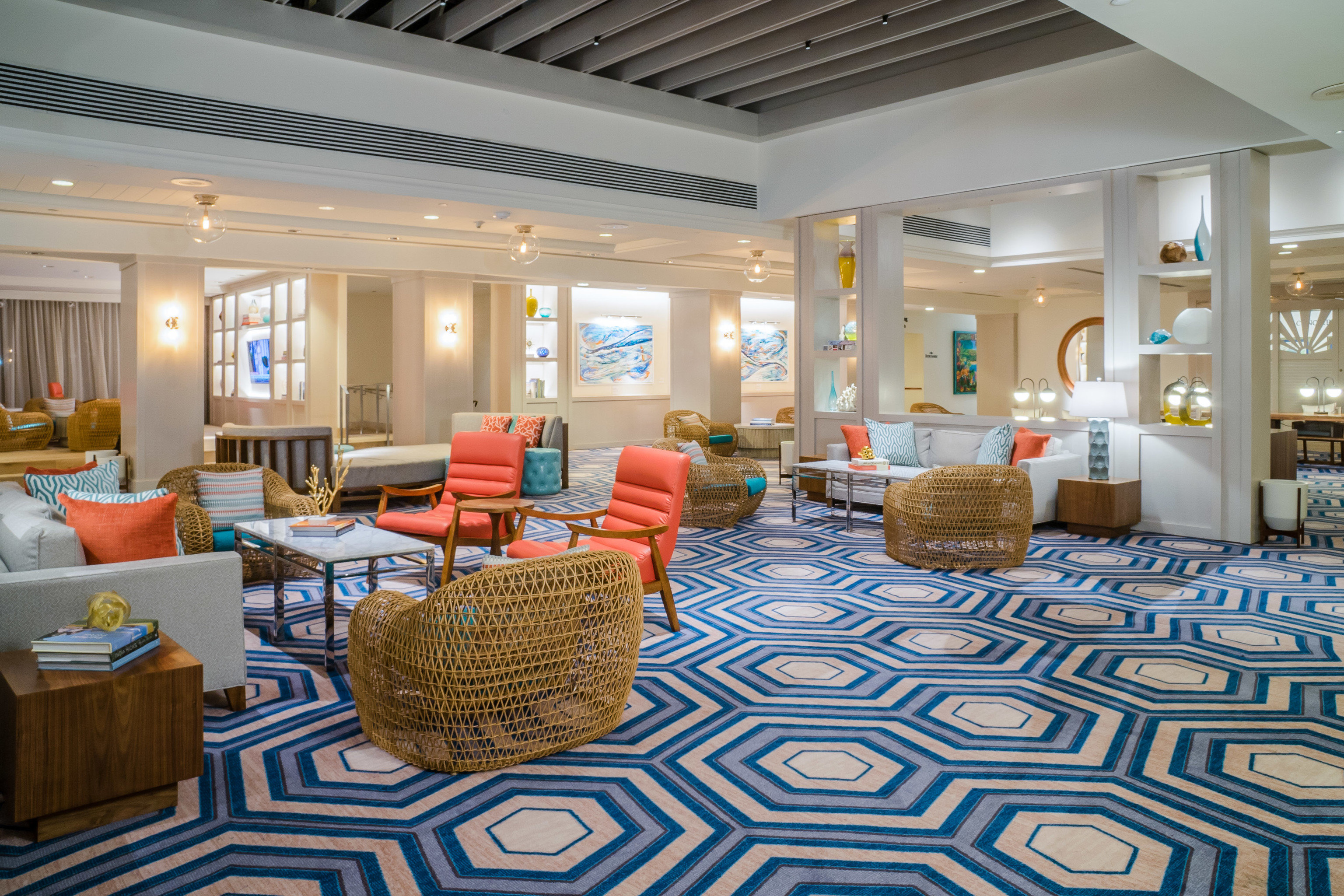 Lobby living room flooring Suite