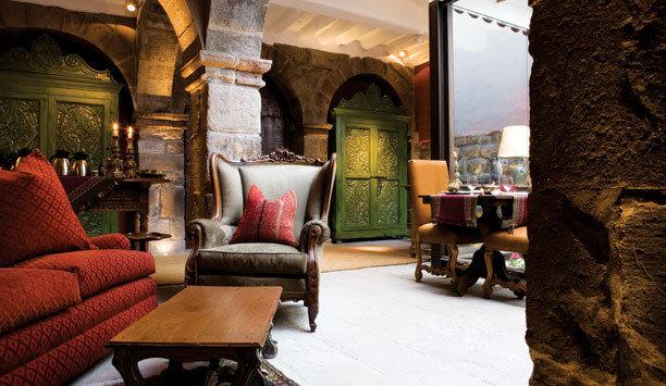 sofa home living room hacienda restaurant Lobby Suite