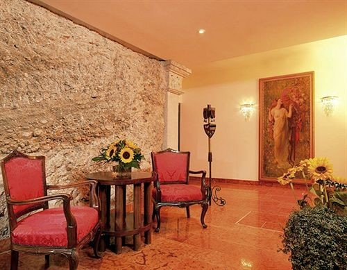 property Lobby living room hacienda Suite