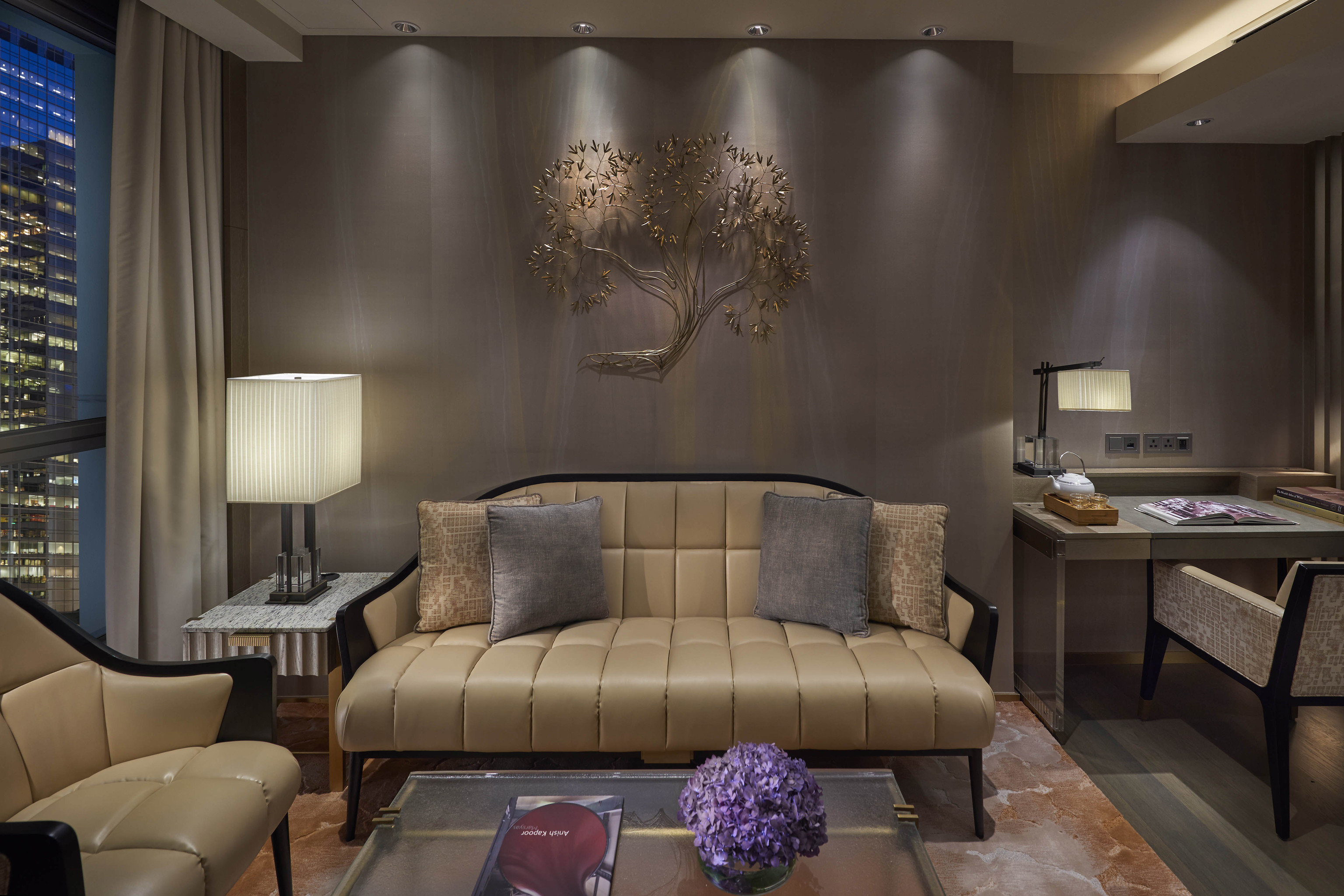 sofa living room property Suite Lobby home leather