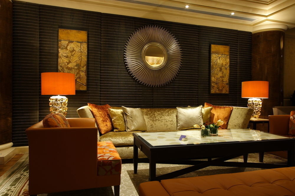 living room property home Suite Lobby