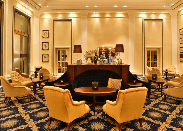 Lobby living room home Suite mansion