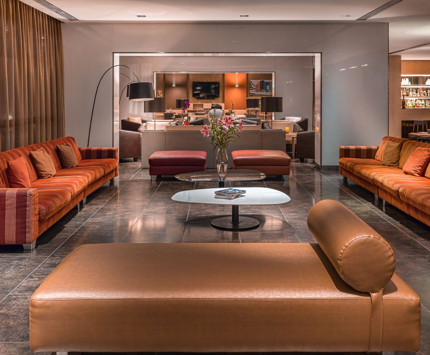 sofa living room leather Lobby Suite recreation room seat