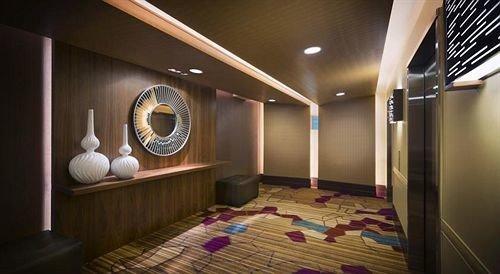 Lobby lighting Suite living room